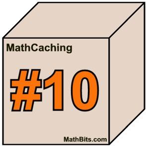 math caching algebra 1 box 2
